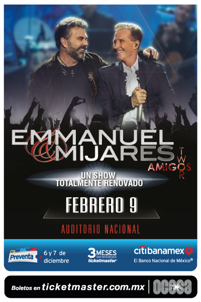 Emmanuel y Mijares