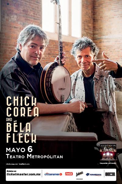 Chick Corea and Béla Fleck
